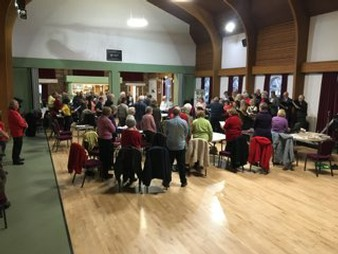 The Llanfair Singers at Knighton Community Centre